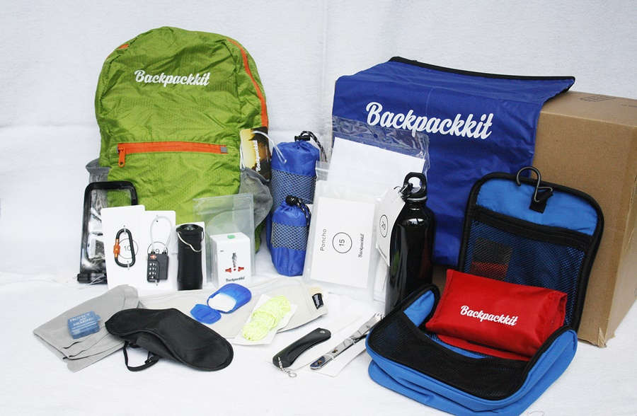 backpackkit reisartikelen